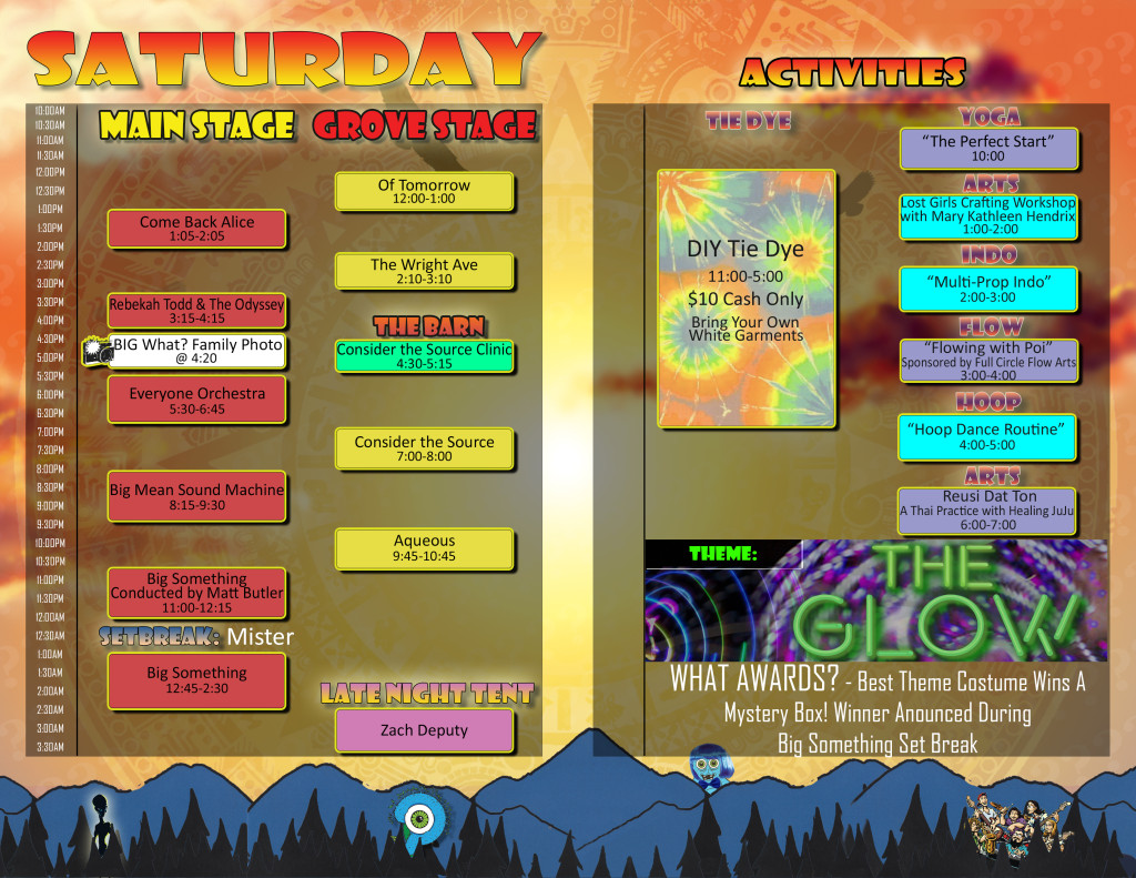 Saturday Schedule FULL PAGE-2